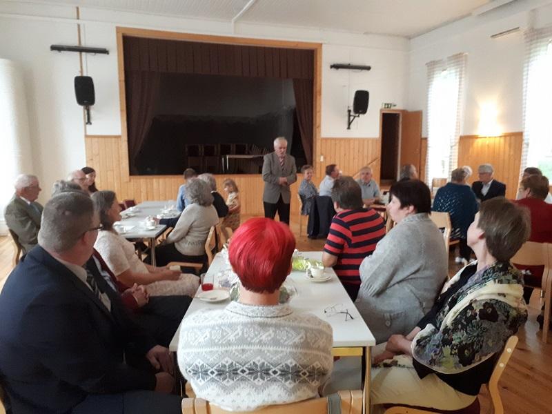 gratulationer till pensionering Det hölls flera tal i Vanjärvi – Nylands byar rf. gratulationer till pensionering
